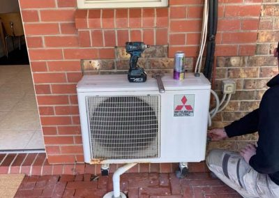 Air conditioner service at Serafino Wines in South Australia