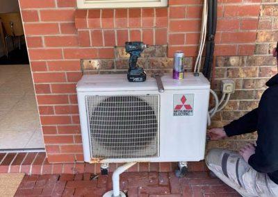 Air conditioner service at Serafino Wines in South Australia
