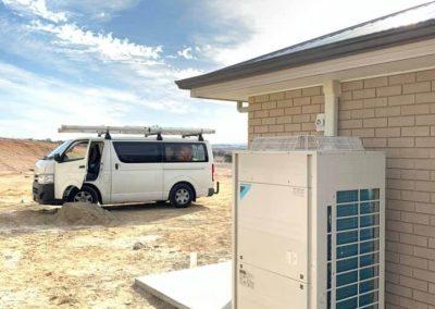 Daikin 200 big air conditioner unit installation in regional South Australia